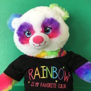 Build a Bear Rainbow Bear